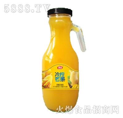 锦星冷榨芒果汁1.5L