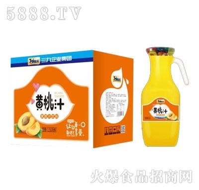 鲸采黄桃汁1.5LX6