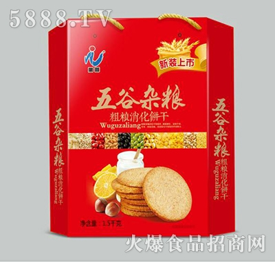万蓉五谷杂粮粗粮饼干