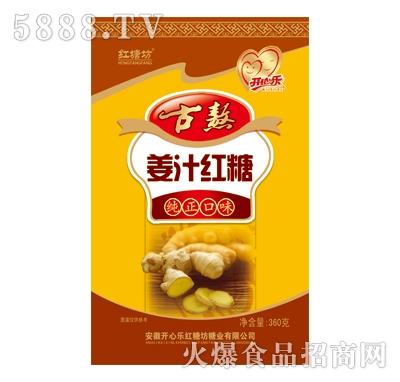 古熬姜汁红糖360g