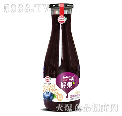 友利友一树好果蓝莓汁1.5L