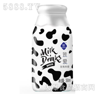 致爱原味乳饮料380ml