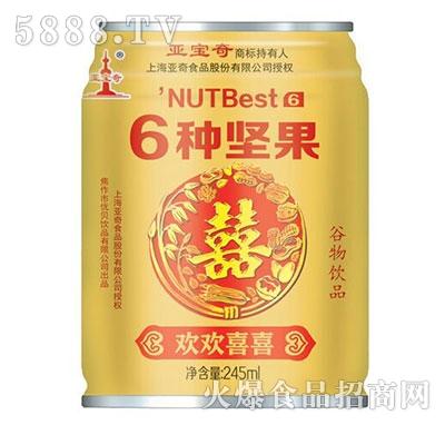 亚宝奇6种坚果谷物饮