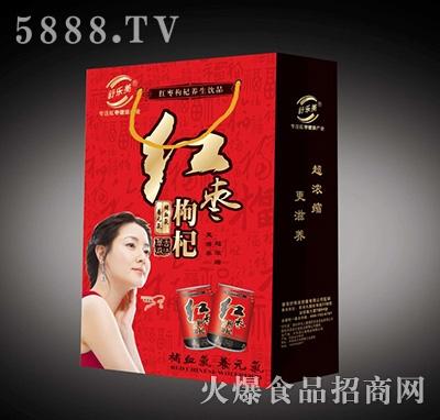 舒乐美红枣枸杞养生饮品礼盒
