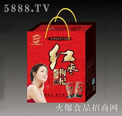 舒乐美红枣枸杞养生饮品精美礼盒