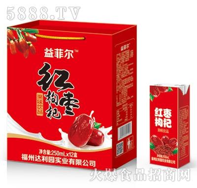 益菲尔红枣枸杞果味饮品