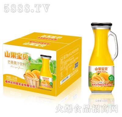 山果宝贝芒果果汁饮料1.2LX6瓶