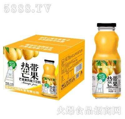 热带芒果芒果果肉果汁饮料1LX6瓶