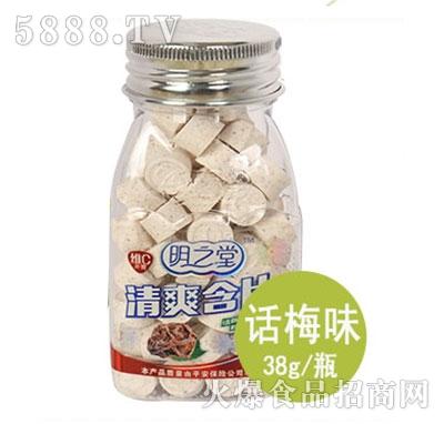 明之堂清爽含片话梅味38g