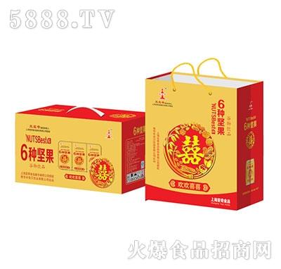 亚宝奇6种坚果谷物饮料盒装礼盒