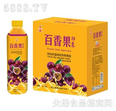 百香果印象果汁1Lx6瓶