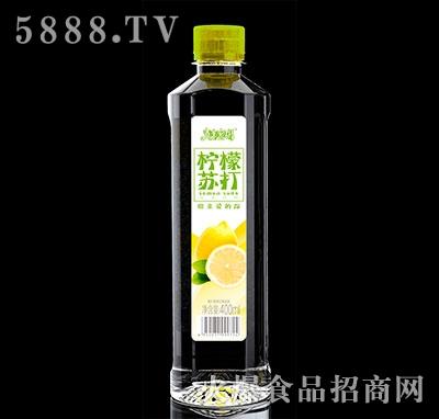 青春密码柠檬味苏打饮料400ml