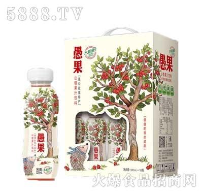 愚果山楂果汁饮料320mlx16瓶