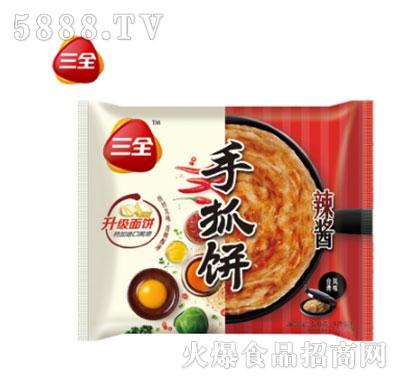 三全千丝手抓饼辣酱味320g产品图