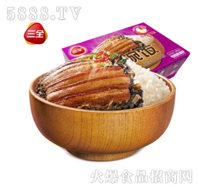 三全一碗饭梅菜扣肉375g自加热米饭产品图
