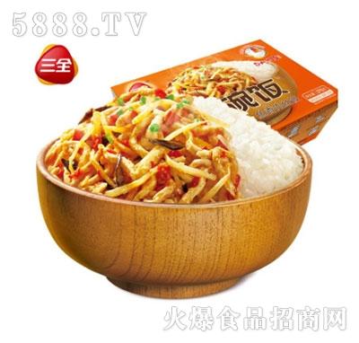 三全一碗饭鱼香肉丝375g自加热米饭产品图