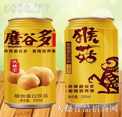 磨谷多猴菇植物蛋白饮料250ml