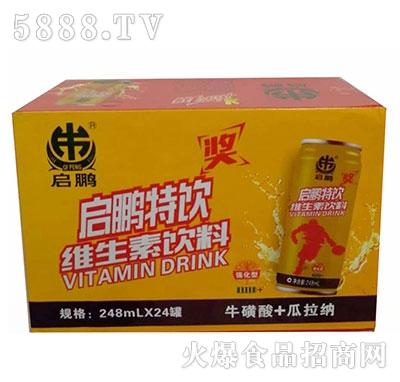 启鹏强化维生素饮料245mlx24