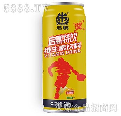 启鹏牛磺酸维生素饮料245ml