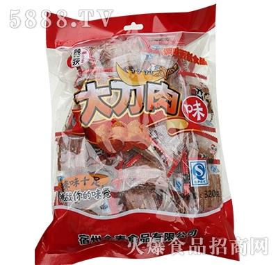 辣三秋大刀肉320g