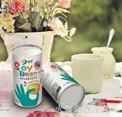 九缘大豆乳酸菌植物蛋白饮品195ml原味易拉罐