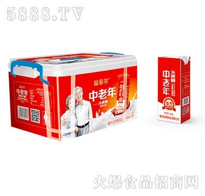益菲尔中老年蛋白饮品250mlx12盒