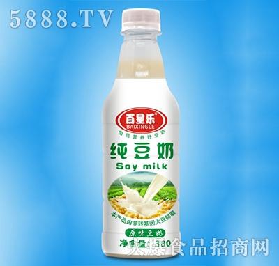 百星乐原味纯豆奶380ml