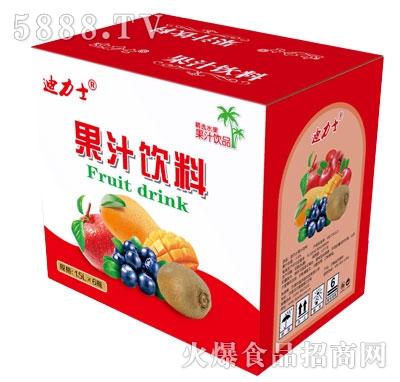 迪力士果汁饮料1.5LX6瓶
