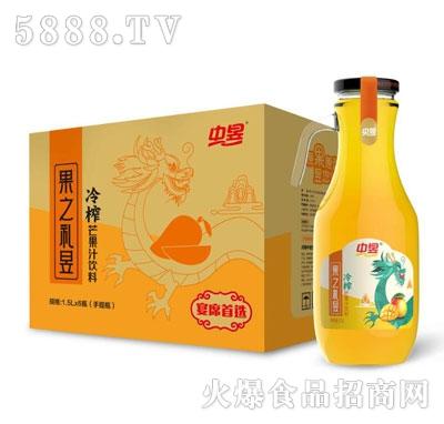 中昱冷榨芒果汁饮料1.5LX6瓶
