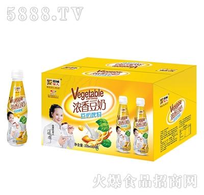 浓香豆奶饮料330mlx24瓶产品图