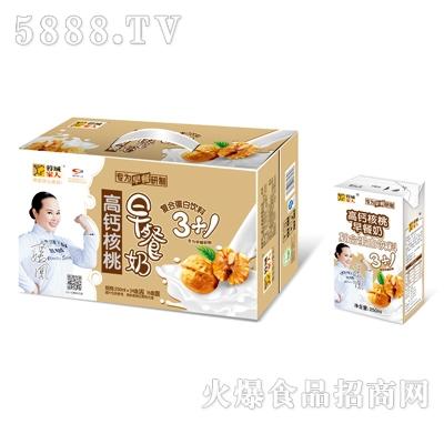 高钙核桃早餐奶250mlx16包