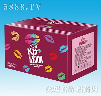 炫吻能量饮料草莓味箱