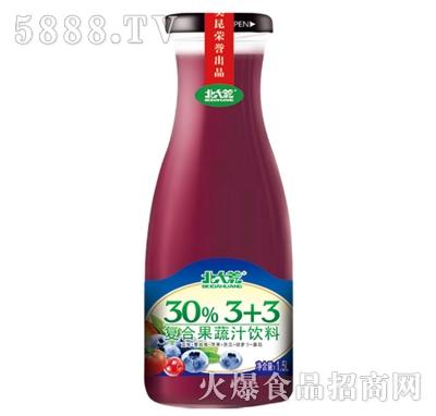 北大荒复合果蔬饮料330ml(紫)产品图