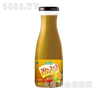 北大荒复合果蔬饮料330ml产品图