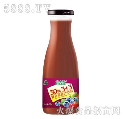 北大荒复合果蔬汁饮料330ml产品图