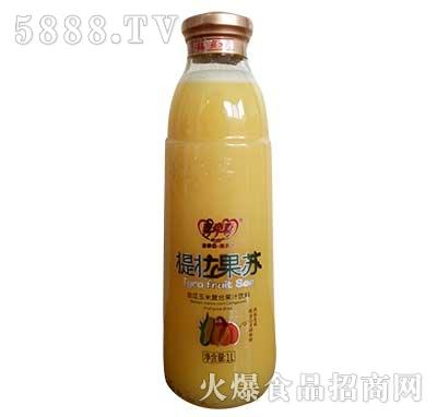 提拉果苏金瓜玉米果汁饮料