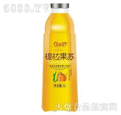 提拉果苏金瓜玉米果汁饮料1L