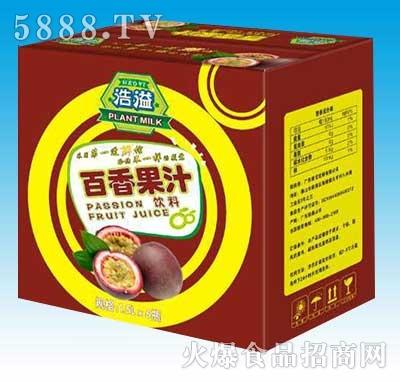 浩溢百香果汁1.5Lx6瓶