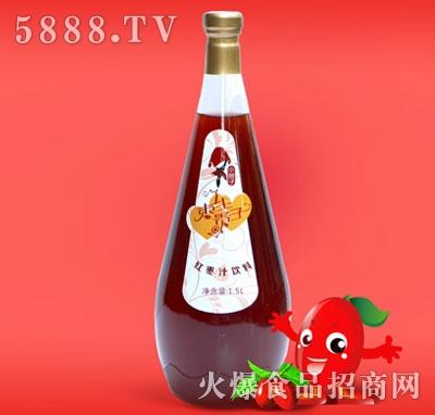 1.5L玻璃瓶红枣汁