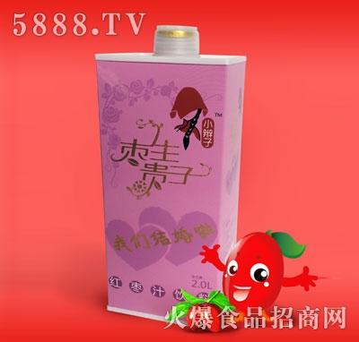 2L塑料瓶红枣汁