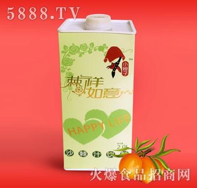 2L塑料瓶沙棘汁