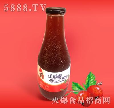 345ML玻璃瓶山楂汁