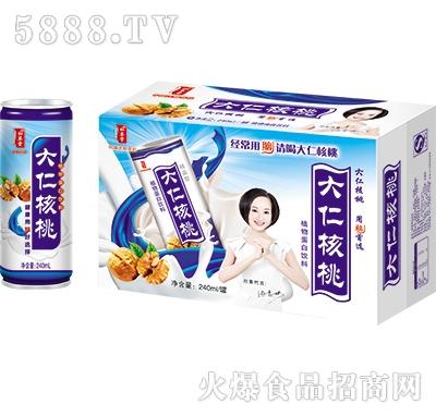 大仁核桃乳饮品240mlx20罐