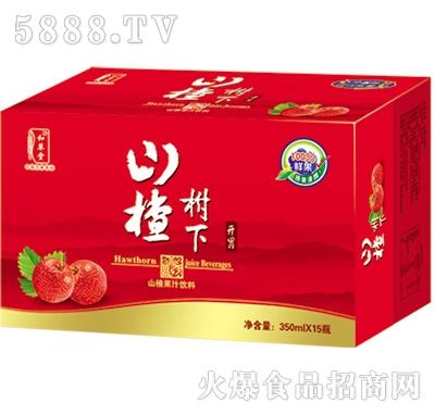 山楂树下果汁饮料箱装500ml