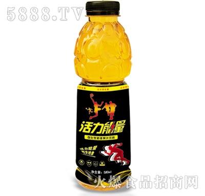 活力能量550ml果汁饮料