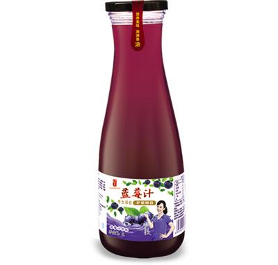 蓝莓汁瓶装1L
