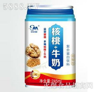 核桃+牛奶复合蛋白饮料245ml