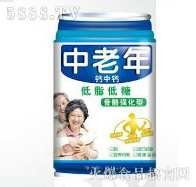 中老年钙中钙乳味饮料245ml