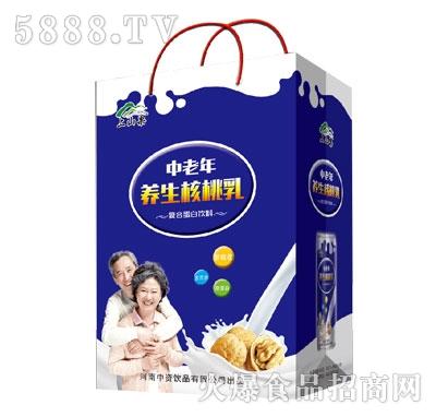 上山果中老年养生核桃乳(袋)