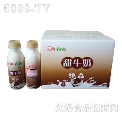 汇源农谷巧克力味甜牛奶饮品